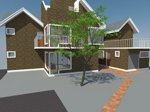 4: Casas de estilo moderno por OMD Arquitectos