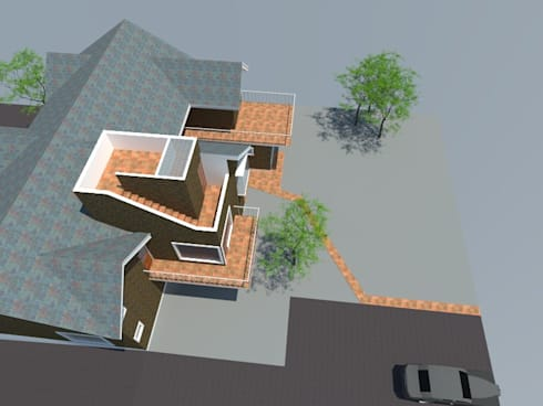 5: Casas de estilo moderno por OMD Arquitectos