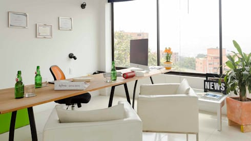Officina con Home Staging:  de estilo  por homeblizz