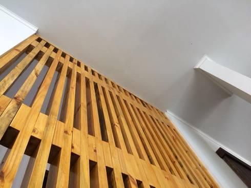 DETALLES: Vestíbulos, pasillos y escaleras de estilo  por Manuel Herrera
