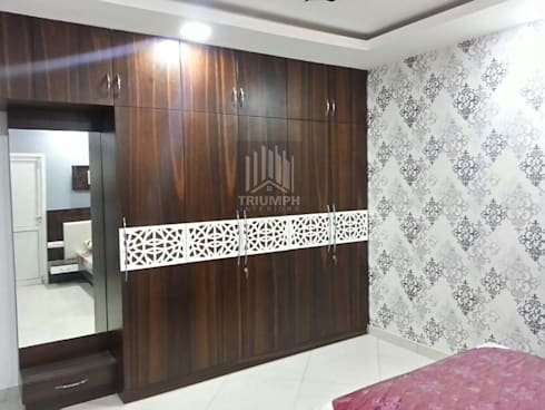 Kids Bed room Wardrobe: modern Bedroom by TRIUMPH INTERIORS