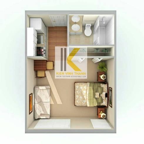 Nhà căn hộ cho thuê:   by Công ty TNHH Kiến Trúc - Xây Dựng KIẾN VĨNH THÀNH
