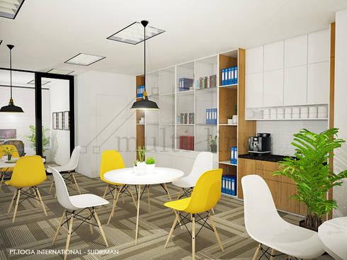 PT TOGA INTERNATIONAL OFFICE:  Kantor & toko by Multiline Design