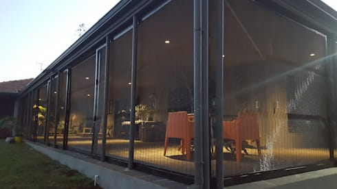 ClearView Mesh Screen for Veranda:  Balconies, verandas & terraces  by Ciber Steel Worx (PTY) LTD