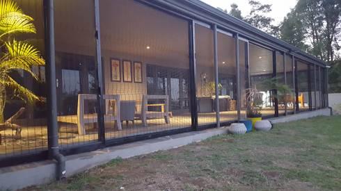 ClearView Mesh Screens for Veranda:  Balconies, verandas & terraces  by Ciber Steel Worx (PTY) LTD