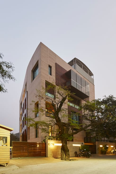 RESIDENCE IN DEHLI:  Hotels by ALEX JACOB ARCHITECT