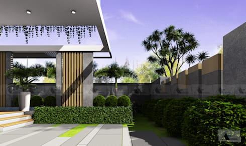 VILLA A. HA. :  Biệt thự by AE STUDIO DESIGN