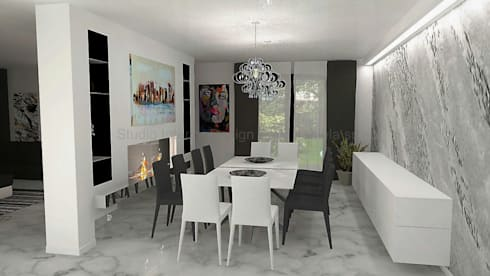 Progettazione Soggiorni, Biocamini e Cartongesso by Studio Interior ...