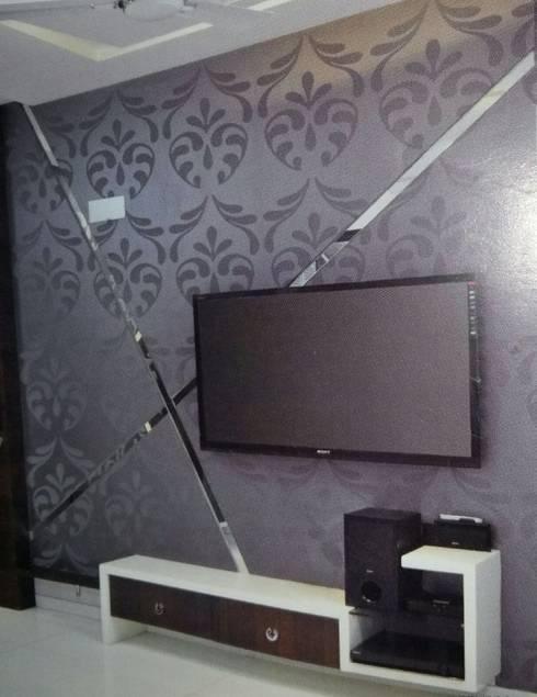 Project: modern Media room by Manvi kitchen world & Interior solution