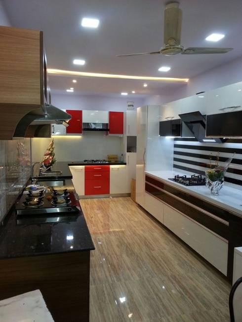 Project: modern Kitchen by Manvi kitchen world & Interior solution