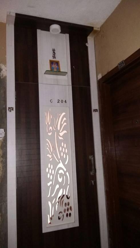Project: modern Living room by Manvi kitchen world & Interior solution