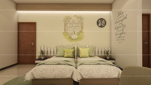 Project 2: modern Bedroom by Fabmodula