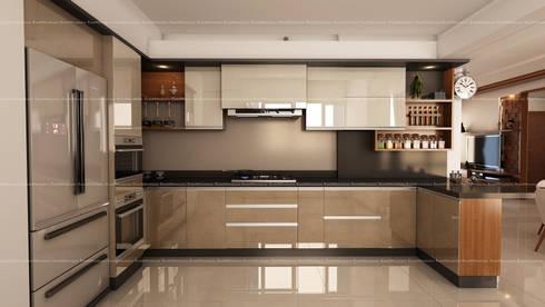 Project 3: modern Kitchen by Fabmodula
