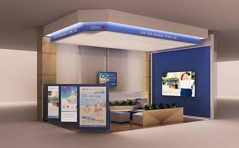 KHU TRẢI NGHIỆM BIDV E-Zone:  Văn phòng & cửa hàng by AFA Design