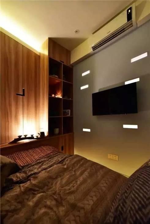 Sự thoải mái tiện nghi trong căn phòng sau cải tạo.:  Phòng ngủ by Công ty TNHH Thiết Kế Xây Dựng Song Phát