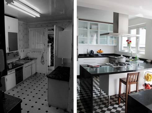 Remodelación Casa García Moreno:  de estilo  por Crescente Böhme Arquitectos