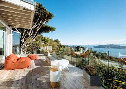 Sausalito Outlook:  Patios & Decks by Feldman Architecture