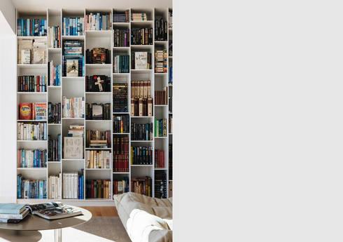 Sausalito Outlook: modern Study/office by Feldman Architecture