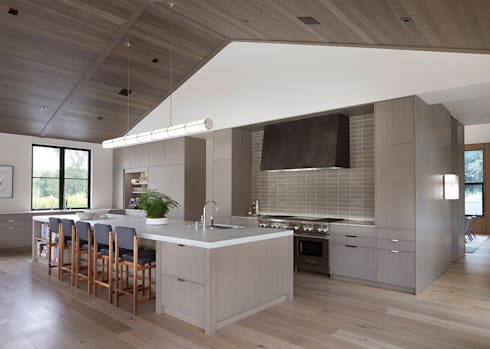 Woodpecker Ranch: modern Kitchen by Feldman Architecture