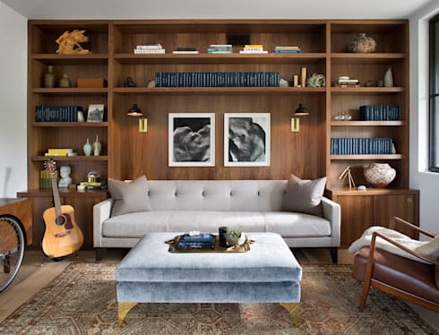 Woodpecker Ranch: modern Study/office by Feldman Architecture