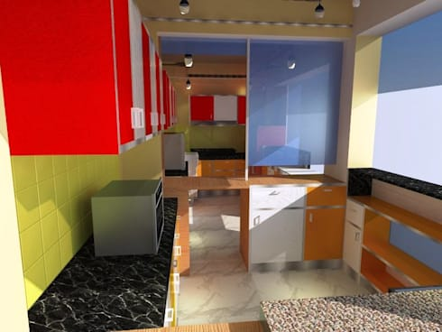 FOOD CAFE :   by RID INTERIORS