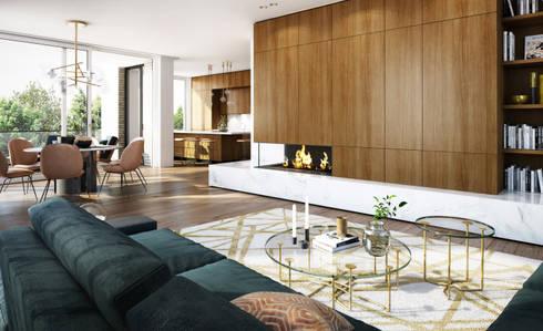 innenarchitektur 3d visualisierung von winhard 3d homify. Black Bedroom Furniture Sets. Home Design Ideas