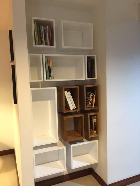Biblioteca a medida: Estudio de estilo  por Maria Mentira Studio