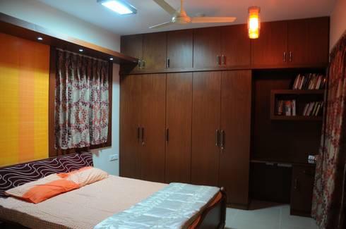 bijumoon : modern Bedroom by Home  Solutions