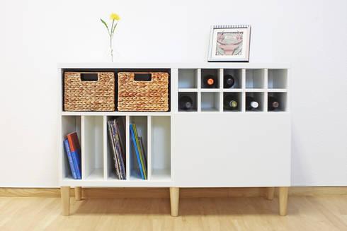 FOT - Möbelfüße für Ikea Besta Regal von NSD New Swedish Design GmbH ...