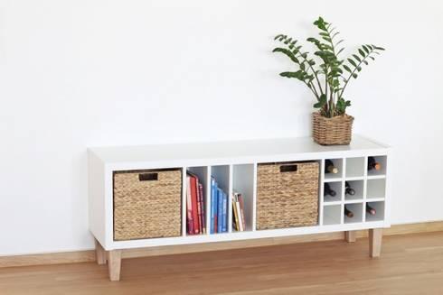 Arbeitszimmer ikea expedit  FOT - Möbelfüße für Ikea Kallax Regal von NSD New Swedish Design ...