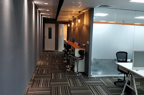Interior Decorators In Bangalore:  Commercial Spaces by Scale Inch Pvt. Ltd.