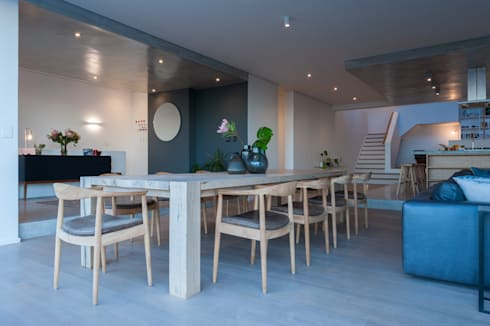 Dining room: modern Dining room by JBA Architects