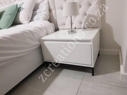 pedestal: modern Bedroom by ZCreations