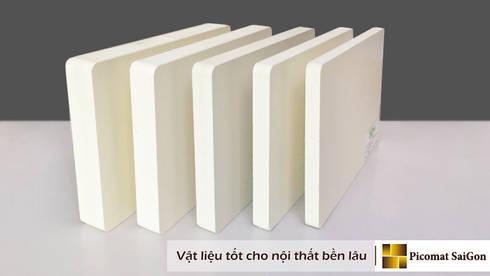 Tấm nhựa PVC Plasker:   by Picomat Sài Gòn