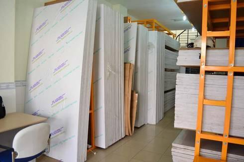 Nhà sản xuất và phân phối Tấm nhựa nội thất PVC Plasker:   by Picomat Sài Gòn