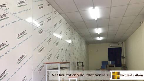 Tấm nhựa ốp tường Plasker:   by Picomat Sài Gòn