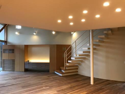 雁木のある家: たわら空間設計㈲が手掛けたです。