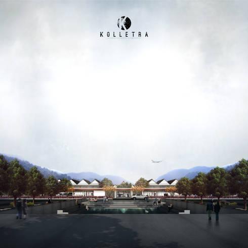 Improvement of Haluoleo Kendari Airport :   by Kolletra Studio
