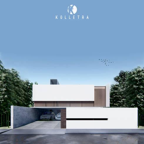 ZL House:   by Kolletra Studio