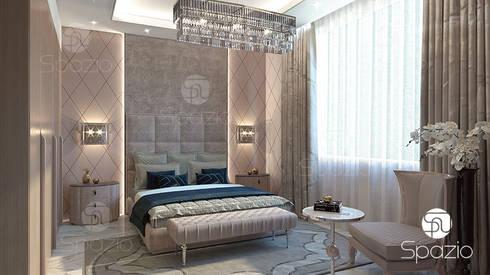 modern Bedroom by Spazio Interior Decoration LLC