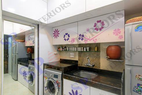 Ritesh bhai: modern Kitchen by SP INTERIORS