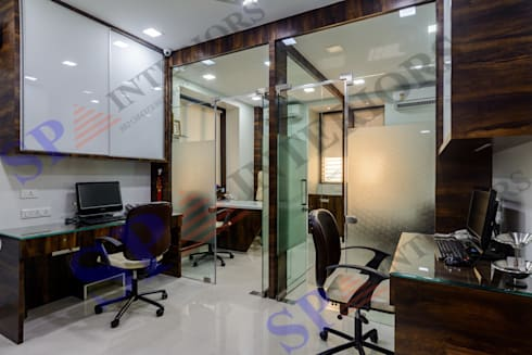 MAK traders:  Office buildings by SP INTERIORS