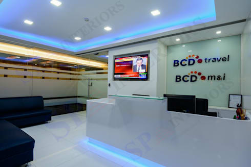 BCD Travels:  Office buildings by SP INTERIORS