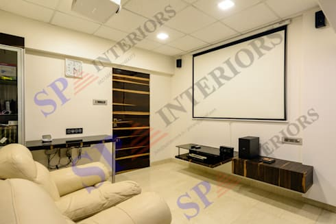 Ajay Bali: modern Living room by SP INTERIORS