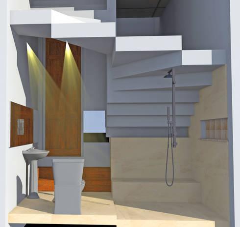 Kamar Mandi Tamu:   by SMarchdesign12