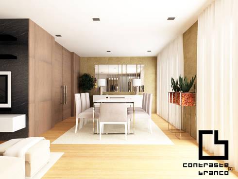 Superbe Design De Interiores De Moradia Moderna CCB _ V.N.Gaia: Salas De Jantar  Modernas Por