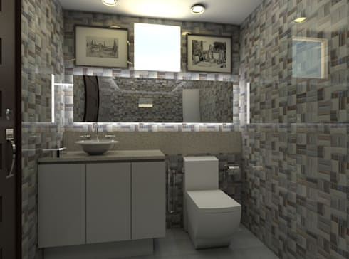 Casa Alexandria Bathroom 1 : mediterranean Bathroom by Constantin Design & Build