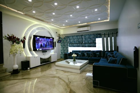 Projects 2: modern Living room by COLORDREAMS