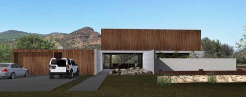 Casa Chicureo: Casas de estilo mediterraneo por Nicolas Loi + Arquitectos Asociados