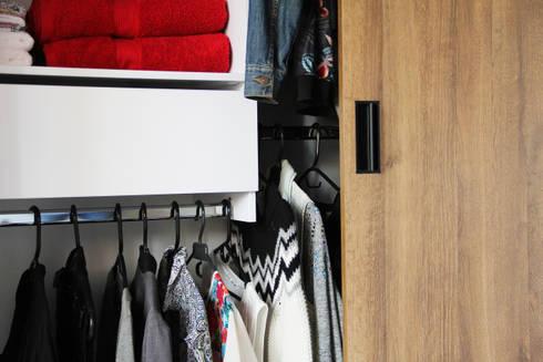 Detalles: Habitaciones de estilo minimalista por TRES52 S.A.S